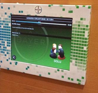 BAYER Toplantı Bilgi Ekranı